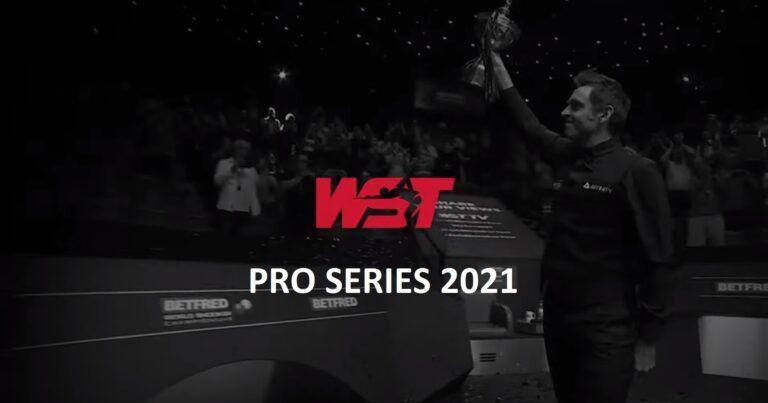 Итоги турнира WST Pro Series 2021