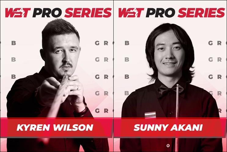 Кайрен Уилсон и Санни Акани — во втором раунде WST Pro Series