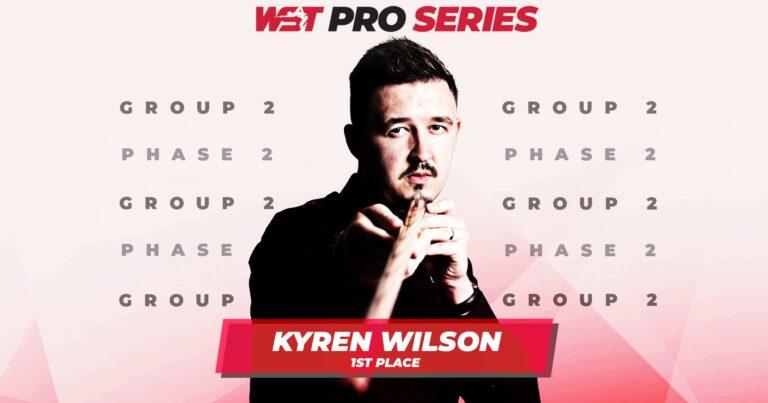 WST Pro Series. Уилсон и Сяо в финале