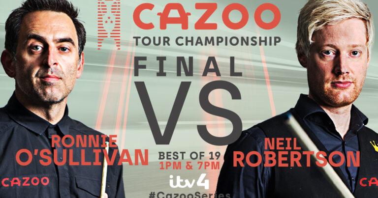 Тур Чемпионшип 2021. Финал: Ронни против Нила