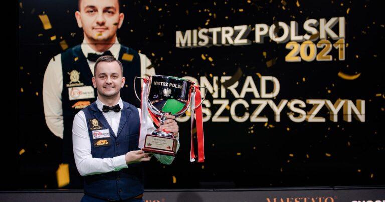 Конрад Ющишин — чемпион Польши 2021!