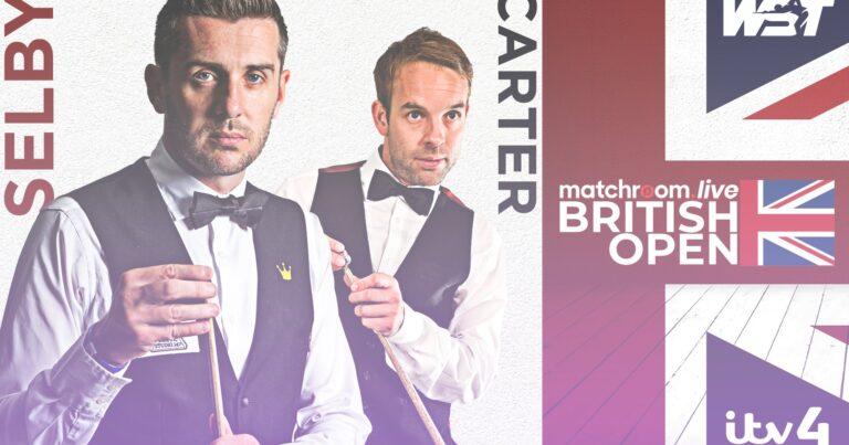 British Open: Картер побеждает Селби