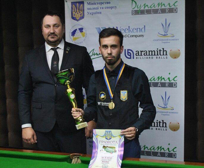 Владислав Вишневський — дворазовий чемпіон України!