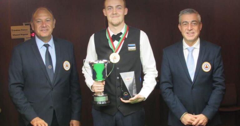 Андрес Петров — чемпион Европы по снукеру 6-красных!